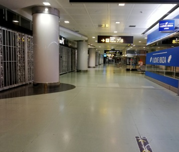 Airport emptiness