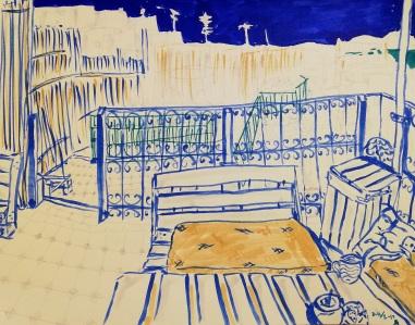 Hostel sketch