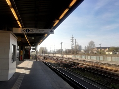 The closest metro station to Budapest airport