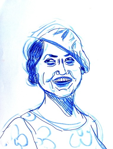 Brush pen sketches