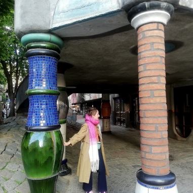 Hundertwasser house and me