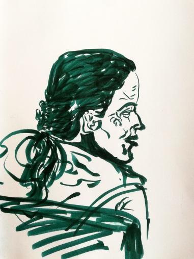 Opera sketch