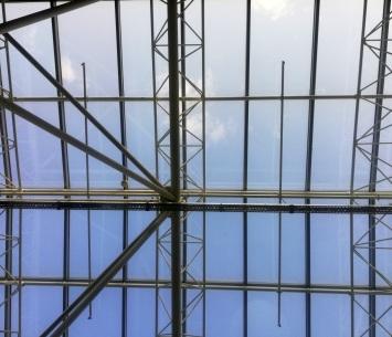 Roof at Kiev airport