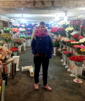 Flowers and me